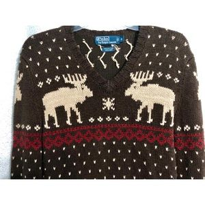 265bb5ae6 Polo by Ralph Lauren · Polo Ralph Lauren Moose Sweater